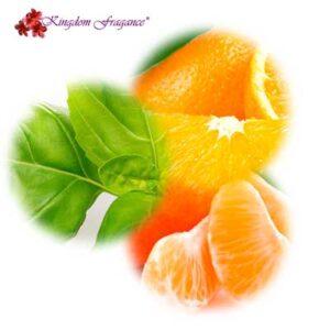 Naranja, Albahaca y Mandarina